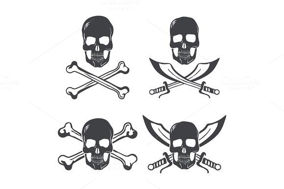 Pirate Flag Design Elements