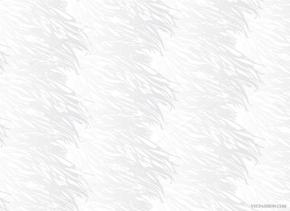 Animal Fur Seamless Vector Pattern