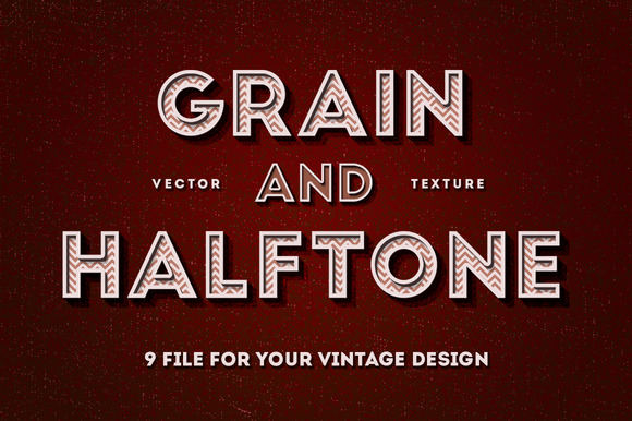 Grain Halftone Texture