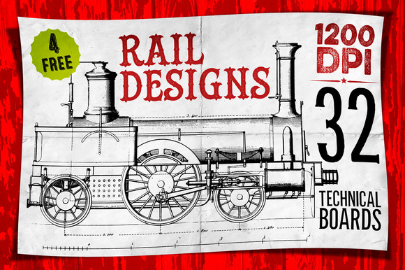 RAIL DESIGNS 4 FREE BONUS