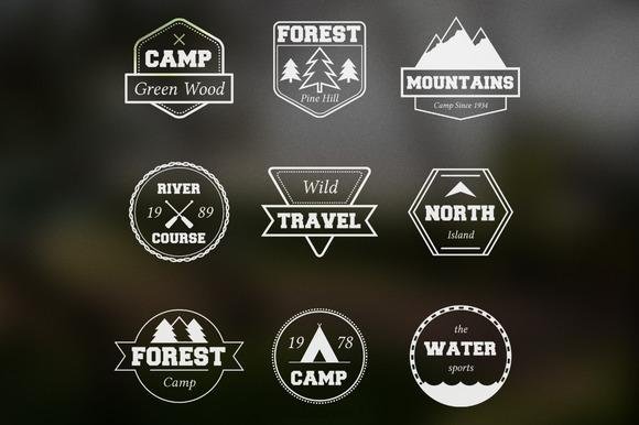 Travel Badges Logos