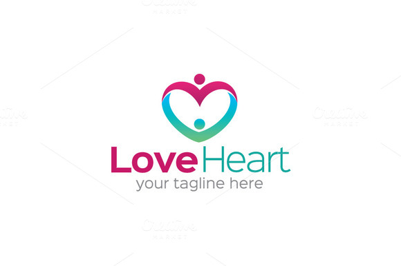 Love Heart Logo