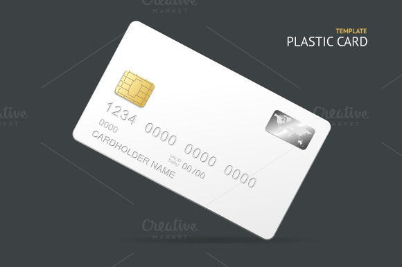 Vector Credit Card Template