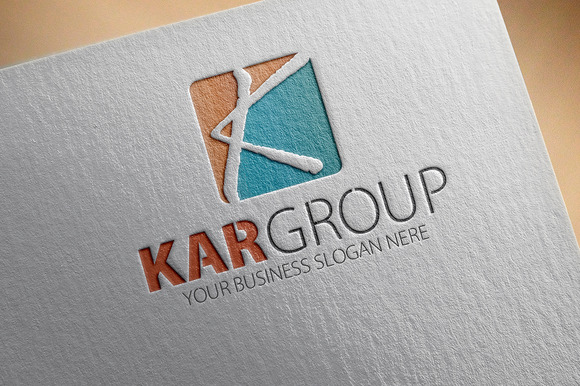 Kar Group K Letter Logo