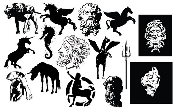 Mythology Vector Pack