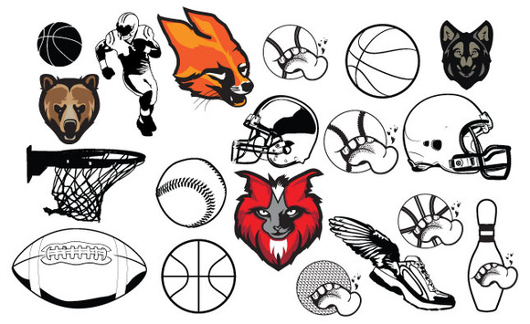 Varsity Sports Vector Pack