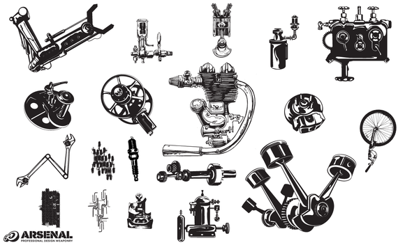 Machinery Vector Pack