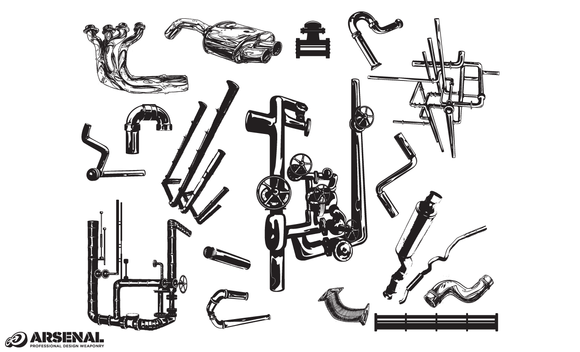 Pipes Vector Pack