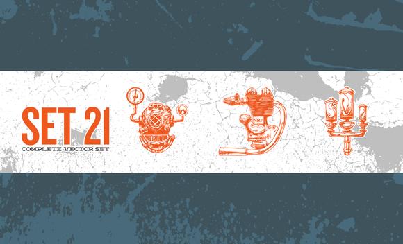Illustrator Vector Set 21