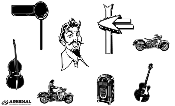 The 50s Vector Pack