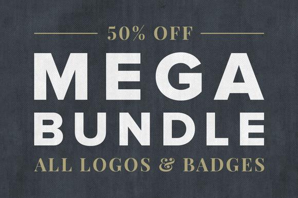 Vintage Logo Badge Mega Bundle
