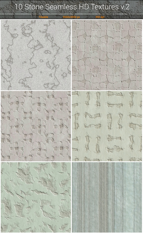 Stone HD Seamless Textures V.2