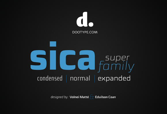 Sica SuperFamily 36fonts Only $50