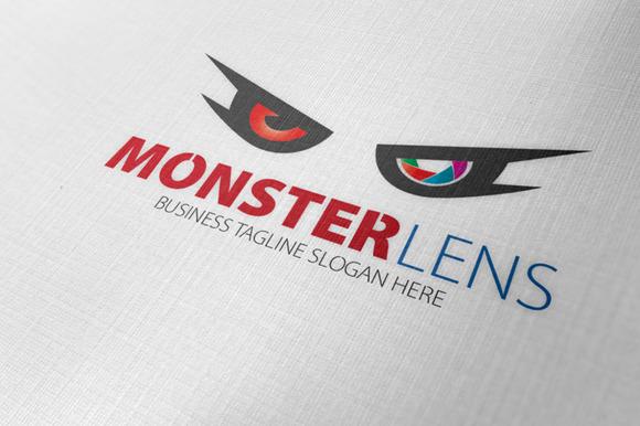 Monster Lens Logo