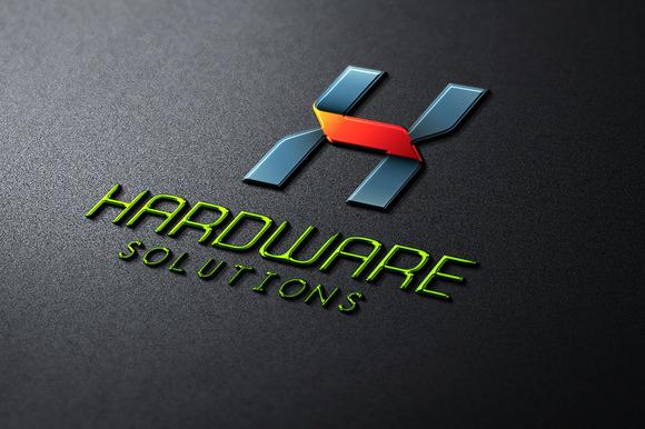 HardWare H Letter Logo