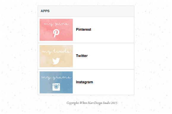 Facebook Page Social Media App Tabs