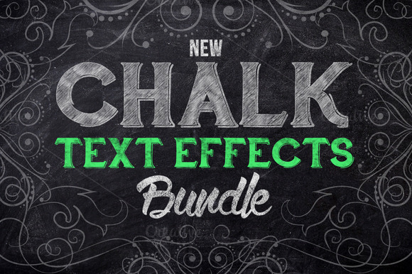 Chalk Text Effect Bundle