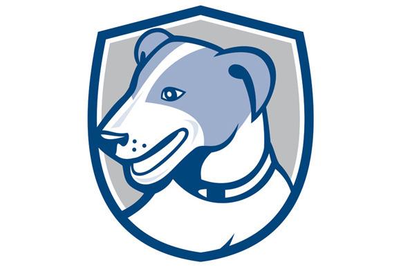 Jack Russell Terrier Head Shield Car