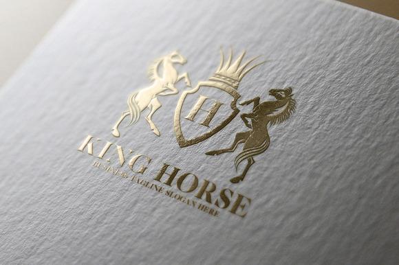 King Horse Logo