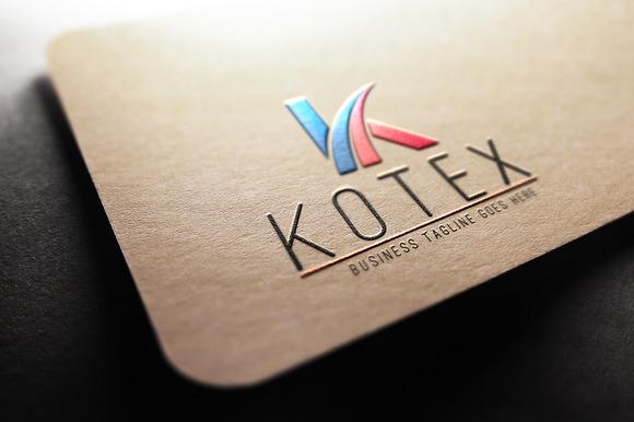 Kotex K Letter Logo