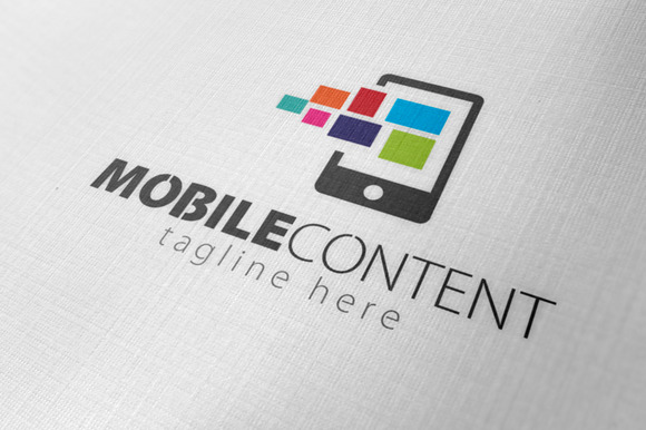 Mobile Content Logo