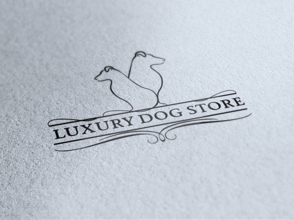 Luxury Dog Store Logo
