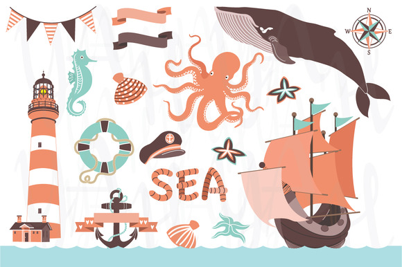 Nautical Clip Art