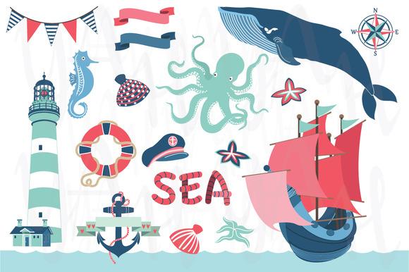 Nautical Sea Clip Art