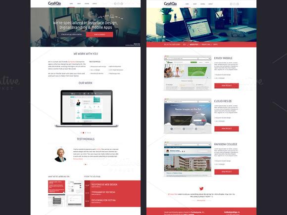 GrafiQa Agency Multipurpose Theme