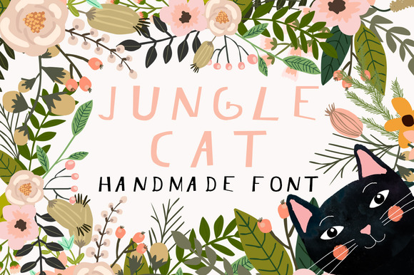 Jungle Cat Font