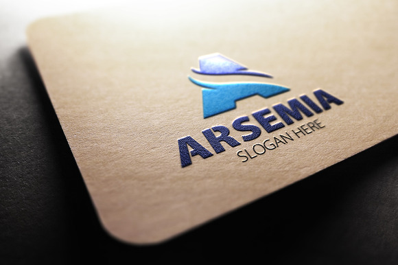 Arsemia A Letter Logo