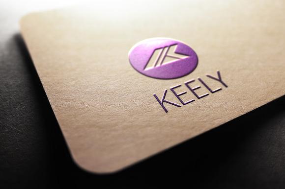Keely K Letter Logo