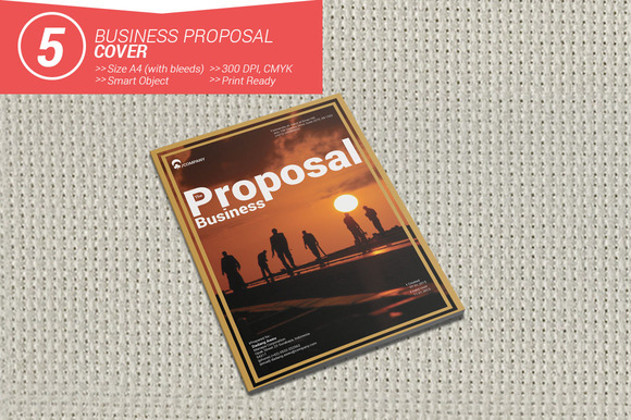Business Proposal Cover