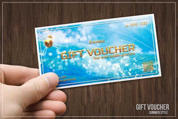 Summer Style Gift Voucher
