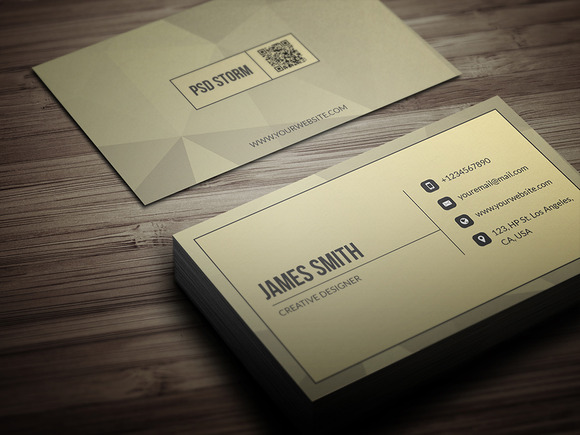 Minimal Business Template Card V1