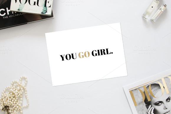 You Go Girl Encouragement Card