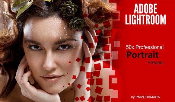 50x Lightroom Portrait Model Presets