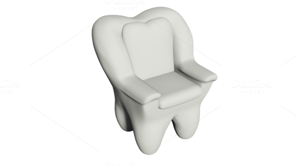 The Tooth Shaped Armchair
