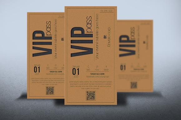 Multipurpose VIP PASS Card