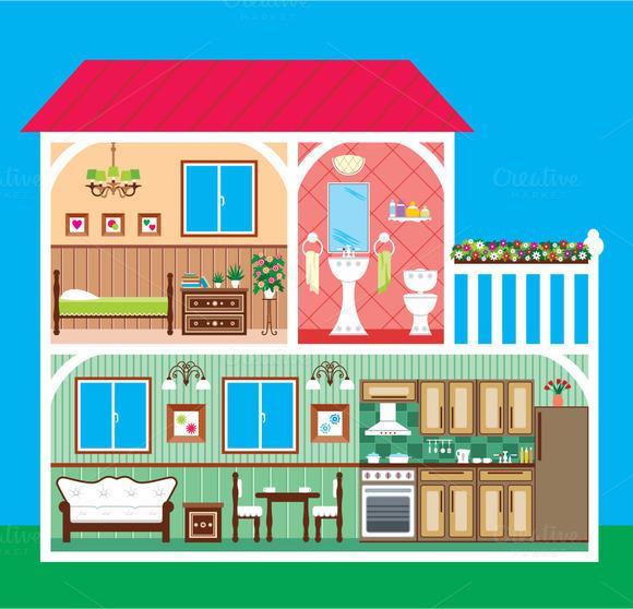 House In A Cut