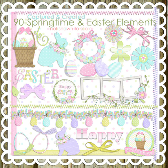 90-Springtime Easter Clip Art