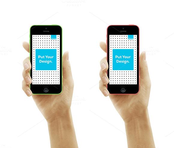 IPhone 5s-5c Mockup