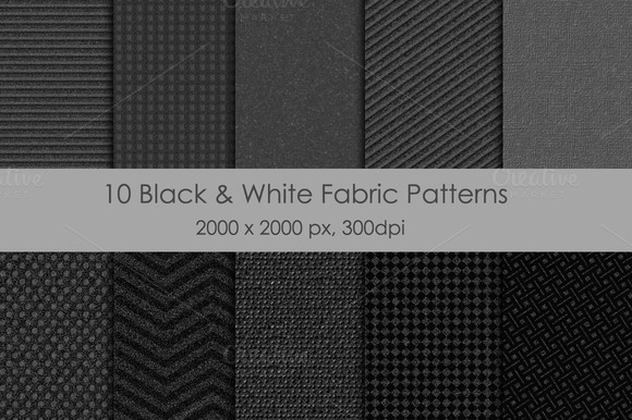 10 Fabric Patterns