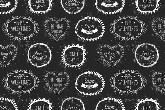 Vintage Valentines Day Patterns