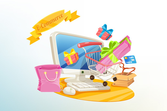 Vector E-Commerce Shopping