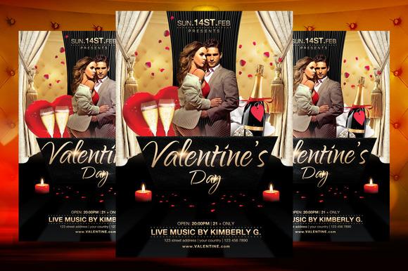 Valentine S Day Flyer Template