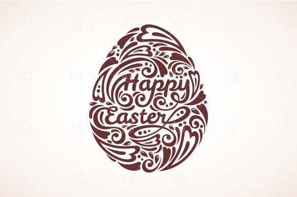 Easter Ornate Egg