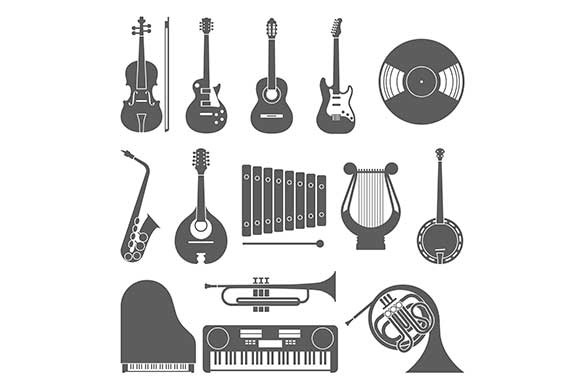 Music Instruments Icons