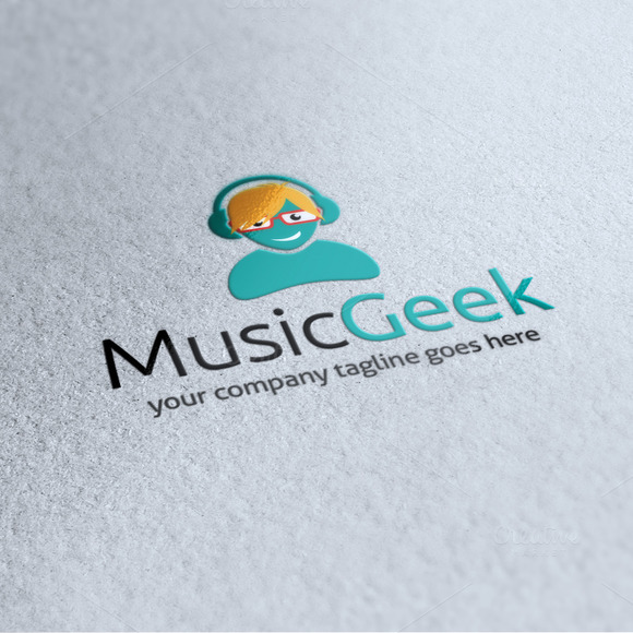 Music Geek Logo