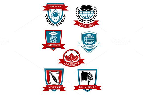 University Emblems And Symbols